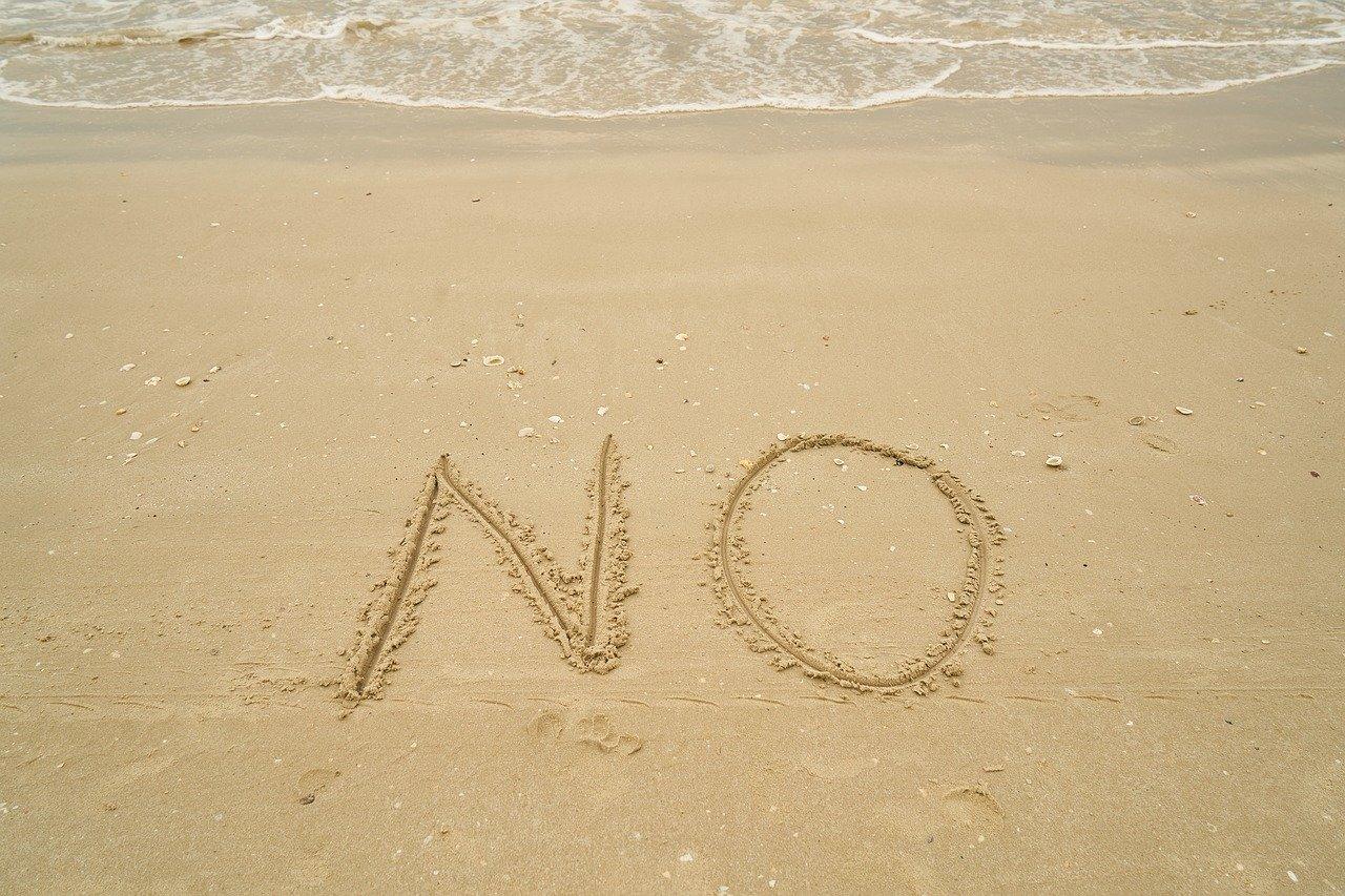 「NO」に力を